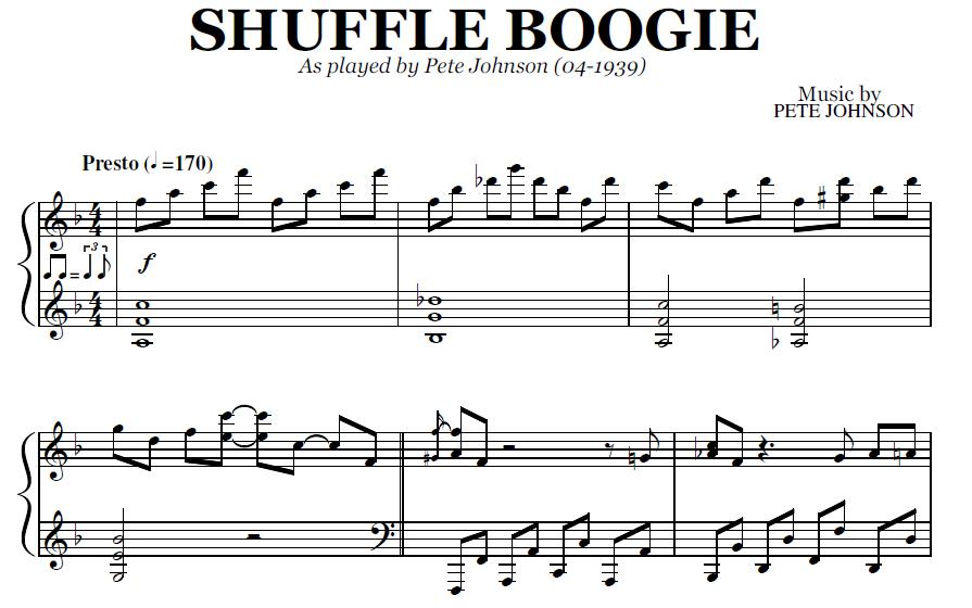 how to play boogie woogie piano wikihow