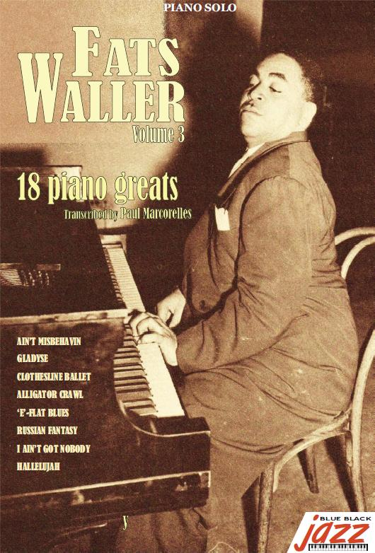 18 Solos For Piano - FATS WALLER Vol3
